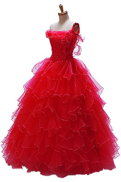 カラーウェディングドレス SDL1R レッド ウエディングドレス マタニティー対応***** ウェディングドレス ウェディングドレス ウェディングドレス ウェディングドレス ウェディングドレス ウェディングドレス