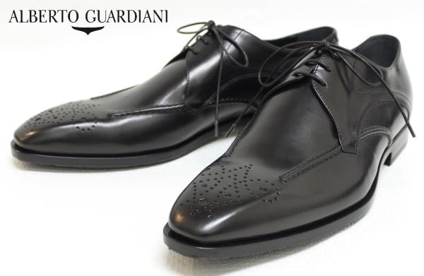 【SALE50】アルベルトガルディアーニ【AlbertoGuardiani】外羽根スワロートゥドレスシューズ GU67025