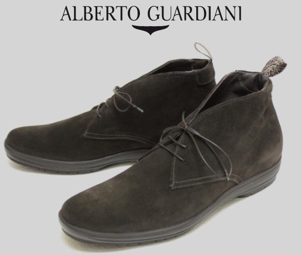 【SALE50】アルベルトガルディアーニ【AlbertoGuardiani】チャッカブーツ/DU65686