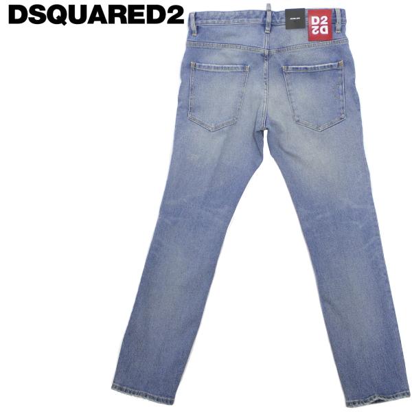 【2020年春夏 国内正規】ディースクエアード【DSQUARED2】 ストレッチデニムジーンズ