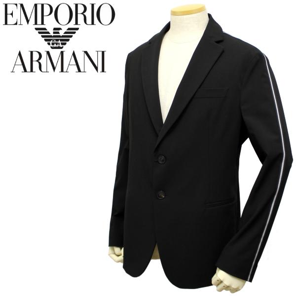 【秋冬 国内正規】エンポリオ アルマーニ【EMPORIO ARMANI】ライン入りストレッチジャケット 41G98S