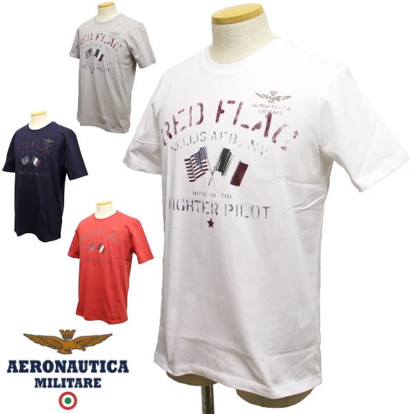【2019年春夏 国内正規】アエロナウティカ【AERONAUTICA】【メンズ】クルーネック半袖TシャツTS1624