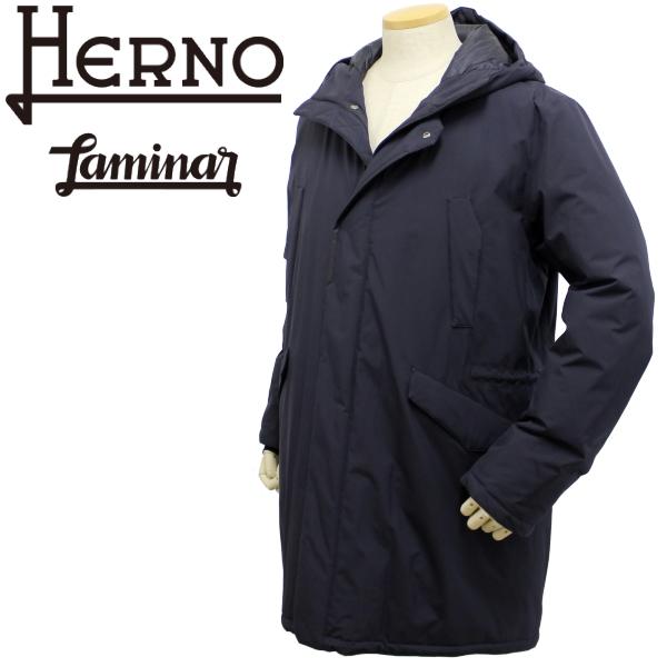 【秋冬 国内正規】ヘルノ【HERNO】【メンズ】ダウン フーテッド ダウンコートPI100UL