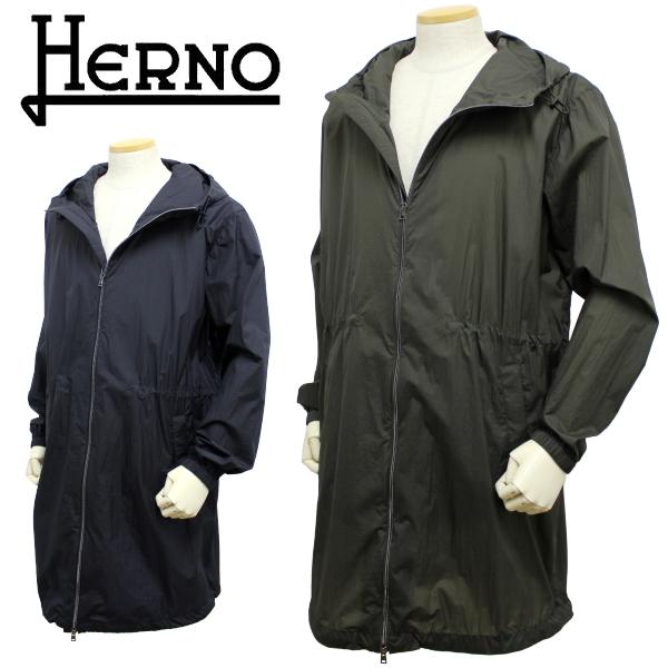 【2020年春夏 国内正規】ヘルノ【HERNO】【メンズ】【LEON5月号掲載】パッカブル フーテッドスプリングコートPA0070U