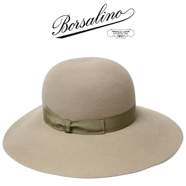 【2019年秋冬 国内正規】ボルサリーノ【Borsalino】中折れ ウールハット 帽子 女 0219201010