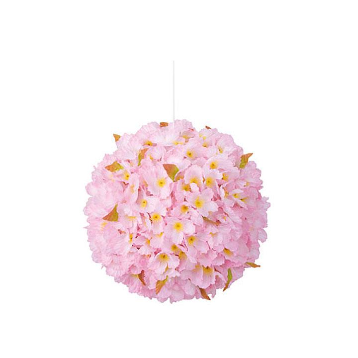 【造花】30cm桜ボール/msd7004-Lfle / 春演出 サクラ イベント 天井 吊り 店舗