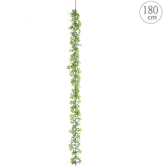 人工観葉植物 グリーン ガーランド 目隠し 壁面 造花 観葉植物 屋外可 天井 壁掛け インテリア msd0319leg 店舗 オブジェ 全長180 定番キャンバス スマイラックスガーランド 格安 価格でご提供いたします