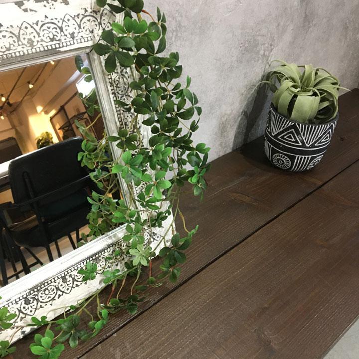 造花 インテリア 観葉植物 フェイクグリーン 葉っぱ 触媒 壁掛け キッチン シュガーバイン リビング マーケット カフェ 壁 海外並行輸入正規品 吊り下げ 玄関