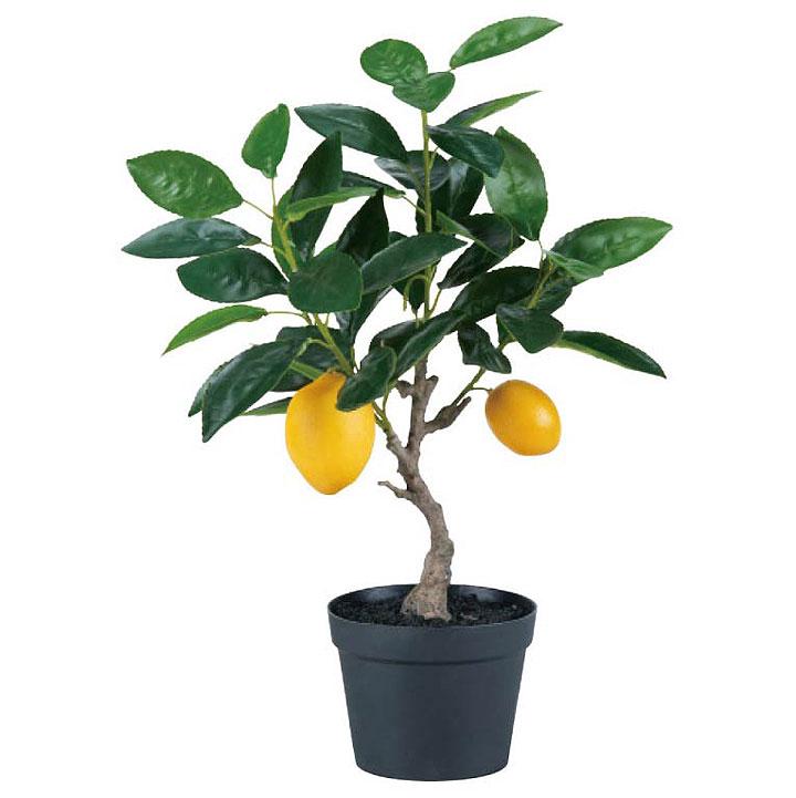[正規販売店] 店舗装飾 インテリアディスプレイ 季節 演出 別倉庫からの配送 飾り イベント アートグリーン さくら 造花 観葉植物 40cmレモンの木 装飾