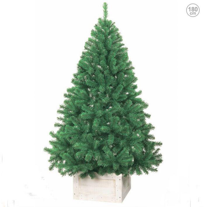 【送料無料】防炎 型くずれしないパインツリー180cm (クリスマス デコレーション モチーフ/ディスプレイ オーナメント イルミネーション)
