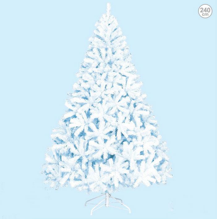 防炎 型くずれしない240cmホワイトパインツリー クリスマスツリー(クリスマス/デコレーション/モチーフ/ディスプレイ/オーナメント/イルミネーションやクリスマスツリーで楽しく装飾・・・プレゼントに・・・