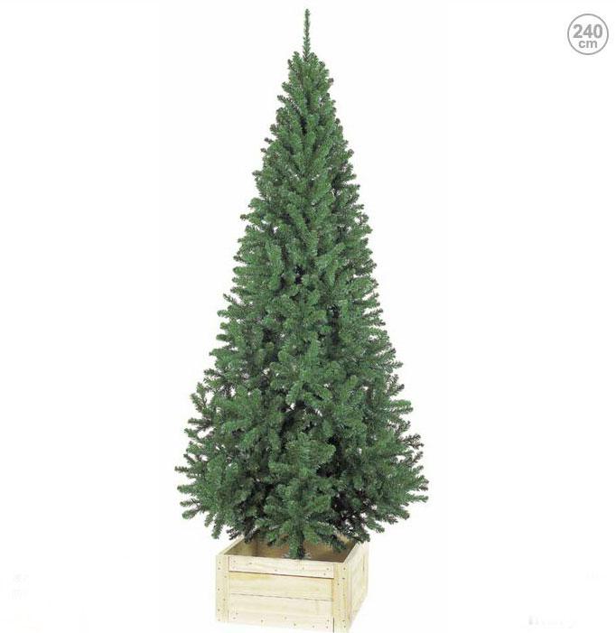防炎 240cmスリムツリー クリスマスツリー(クリスマス/デコレーション/モチーフ/ディスプレイ/オーナメント/イルミネーションやクリスマスツリーで楽しく装飾・・・プレゼントに・・・