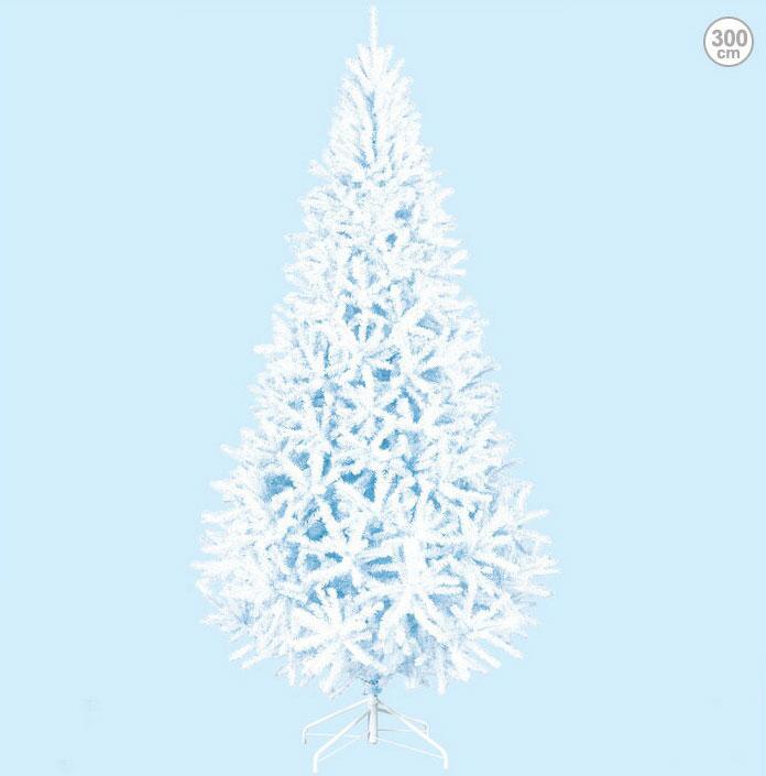 防炎 300cmホワイトスリムツリー クリスマスツリー(クリスマス/デコレーション/モチーフ/ディスプレイ/オーナメント/イルミネーションやクリスマスツリーで楽しく装飾・・・プレゼントに・・・