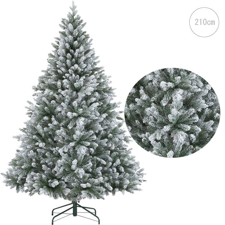 クリスマス ツリー オーナメント LED おしゃれ 未使用 インテリア ヌードツリー 雪をかぶったようなウィスラースノーツリー210cm スノー クラシック 北欧 ボール 置物 雪 価格交渉OK送料無料