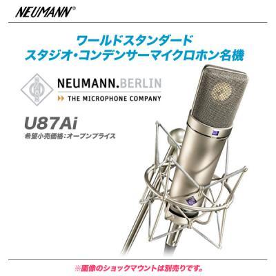 NEUMANN コンデンサーマイク U87Ai 【沖縄・北海道含む全国配送料無料♪】