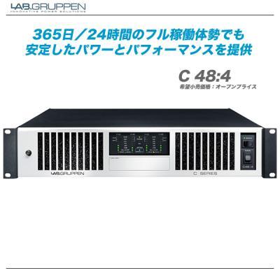 Lab.gruppen パワーアンプ 『C48:4』【代引き手数料無料・全国配送料無料!】