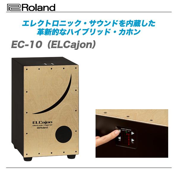 ROLAND(ローランド)ハイブリッド・カホン『EC-10』【全国配送無料・代引き手数料無料!】