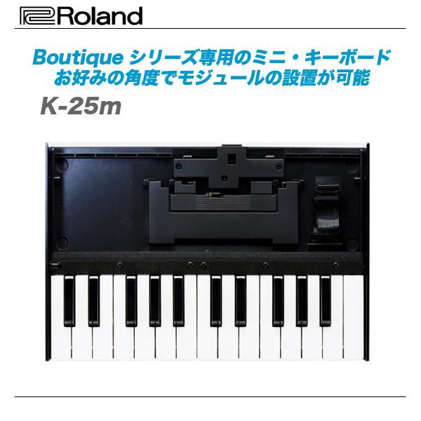 ROLAND ローランド 毎週更新 供え K-25m Roland ミニ 代引き手数料無料 Boutiqueシリーズ専用のミニ キーボード
