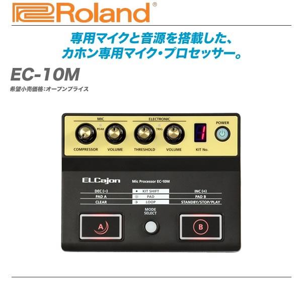 ROLAND(ローランド)カホン専用マイク・プロセッサー『EC-10M』【全国配送無料・代引き手数料無料!】