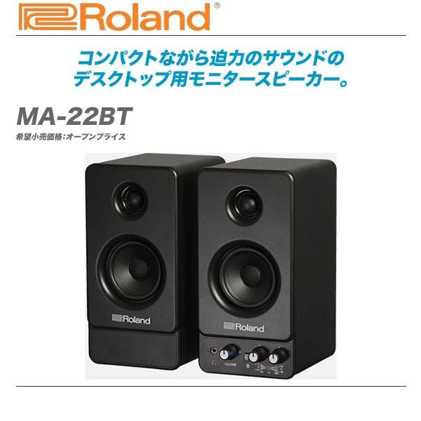 ROLAND コンパクトモニタースピーカー『MA-22』【全国配送料無料・代引き手数料無料!】