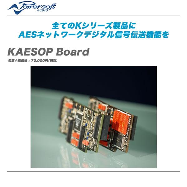 POWERSOFT(パワーソフト)オプション『KAESOP Board』【代引き手数料無料・全国配送料無料!】