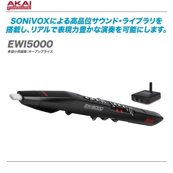 AKAI(アカイ)ウインドシンセサイザー『EWI5000』【送料無料・代引き手数料】