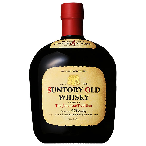 Japan Suntory Suntory old whisky 43 %700ml whiskey domestic suntoryOLD 枡屋 Hotel 枡屋 Plaza