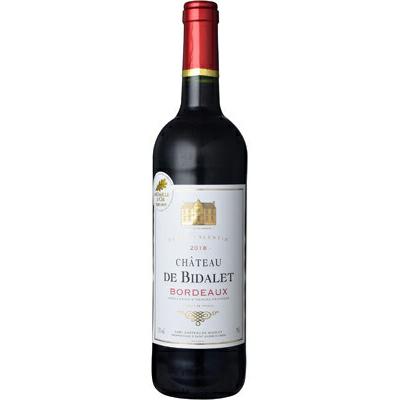 6本~送料無料 2018 CHド ビダレ キュヴェ ファクトリーアウトレット フランス 750ml 赤ワイン ボルドー ヴァランタン ストアー