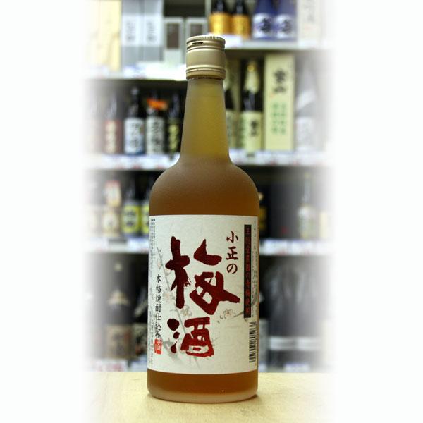 小正の梅酒14度720ml 小正醸造 ギフト 贈り物 お礼 お中元 保証 お祝い 店舗