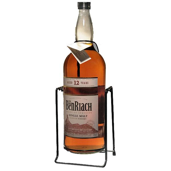 イギリス・スコットランドベンリアック蒸留所ベンリアック12年4.5Lガロンボトル43% ボトルスタンド付ウイスキーシングルモルトスコッチbenriach枡屋酒店