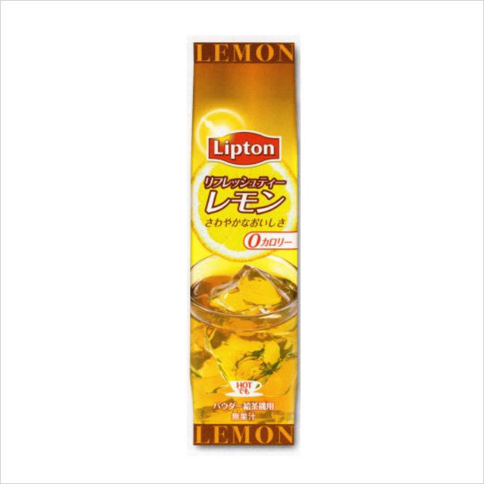 給茶機用粉末紅茶 リプトンリフレッシュティーレモン 60g袋×20 インスタント茶 粉末茶 業務用 給茶機用 【送料無料】