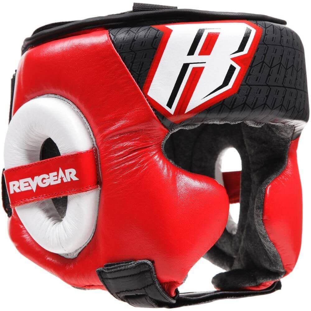 REVGEAR[レヴギアー] ヘッドギア Champion 2 (赤) / 格闘技 ボクシング キックボクシング ブラジリアン柔術 MMA UFC ファイトギア ヘッドガード