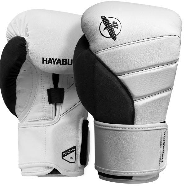 HAYABUSA[ハヤブサ]T3 ボクシンググローブ(白/黒)/ ボクシング キックボクシング MMA 格闘技 隼 BJJ ブラジリアン柔術 スポーツ フィットネス トレーニング