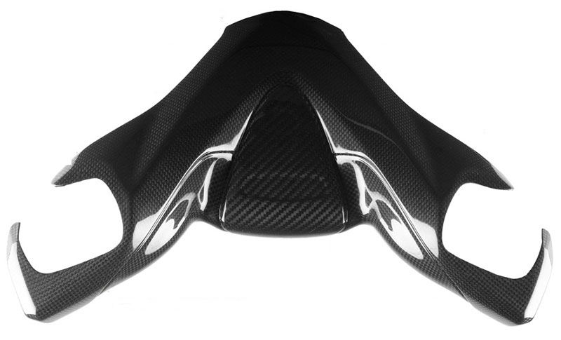 【バイク カーボンパーツ】ドライカーボン製ハンドルバー・カバーYAMAHA T-Max 500 08-11