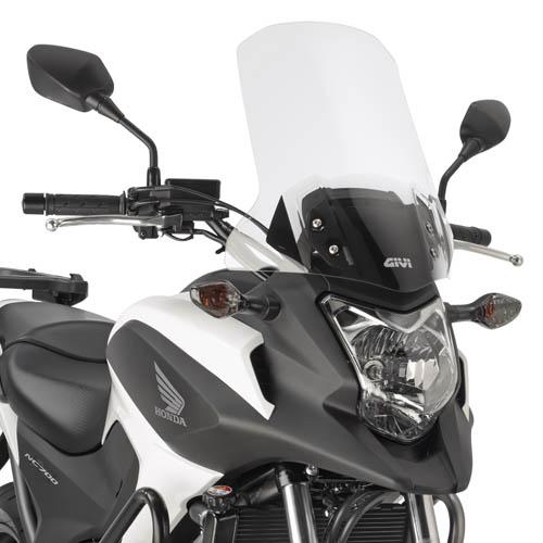 バイク スクリーン GIVI ホンダ NC750X / NC700X ラージ スクリーン -2015モデル