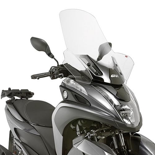 バイク スクリーン GIVI ヤマハ トリシティ 125 / 155 ラージスクリーン