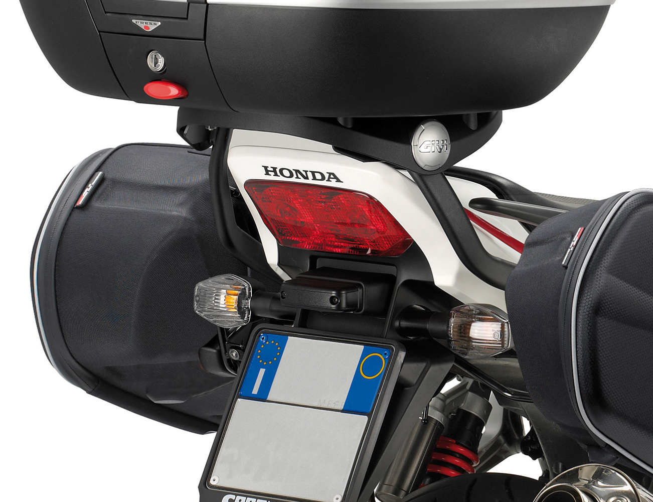 バイク トップケース GIVI モノキー/モノラック 取り付け用 リアキャリア ホンダ CB1300SF 2010-2015