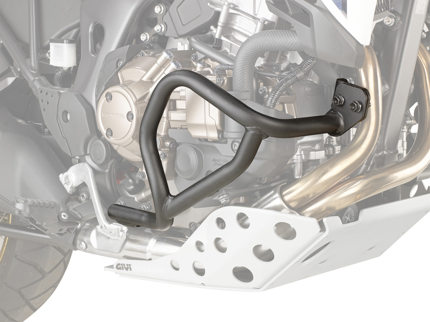 【バイク ガード】GIVI CRF1000L アフリカツイン エンジンガード DCTモデル用