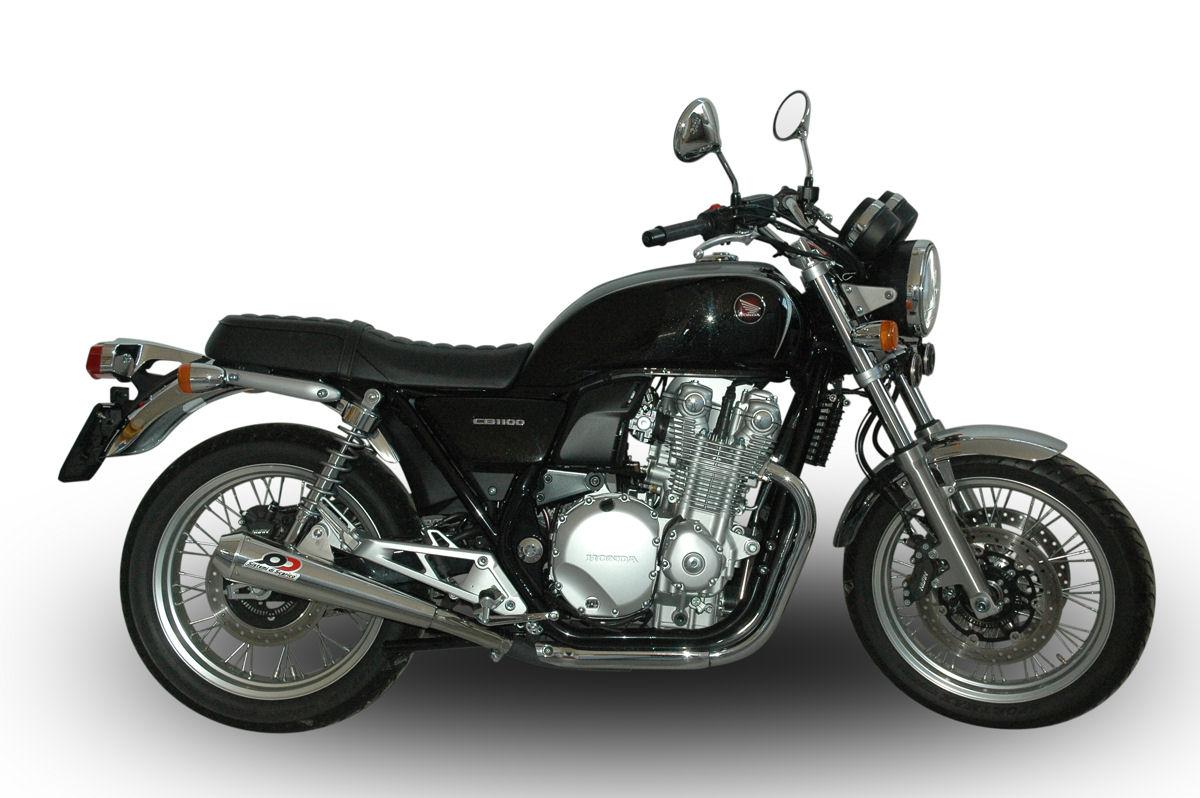 【バイク マフラー】QDエキゾースト マックスコーン メガホン ツイン スリップオン システムCB1100EX