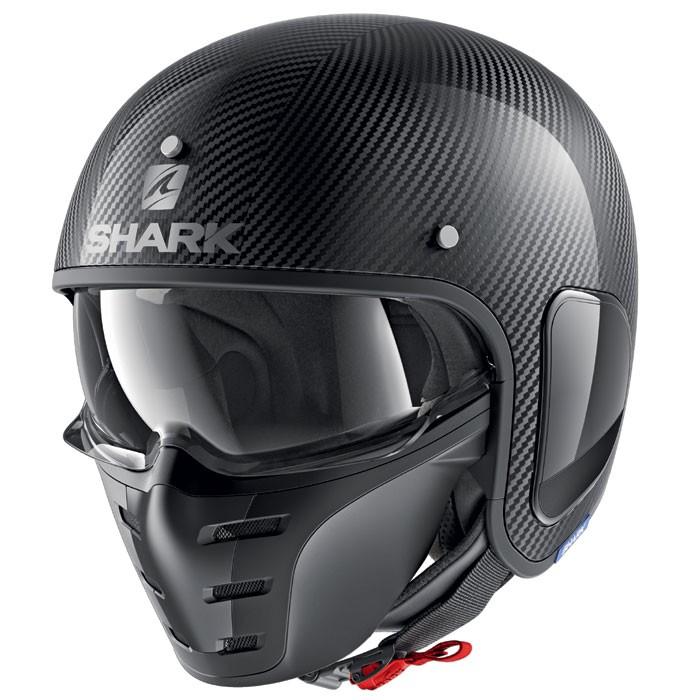 【SHARK】バイク ヘルメット S-Drak S-ドラク ソリッドカーボン
