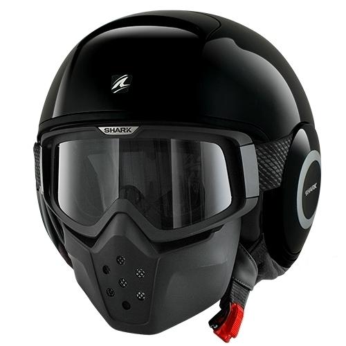 【SHARK】バイク ヘルメット DRAKドラク ブラック