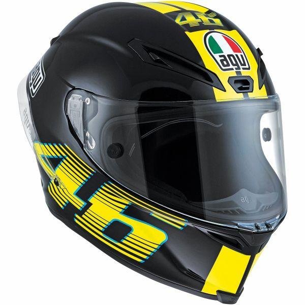 AGV バイク フルフェイス ヘルメット コルサ VR46 ロッシ ブラック