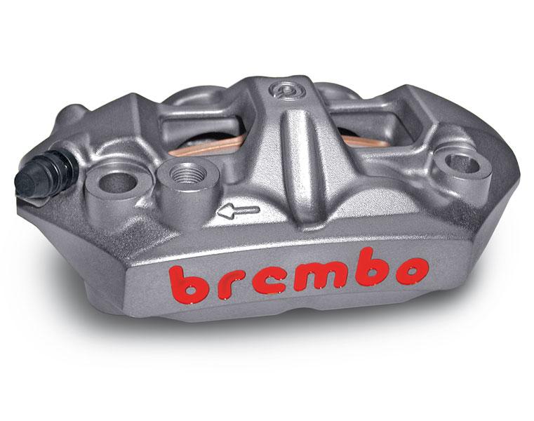 【バイク キャリパー】Brembo ブレンボラジアルマウントモノブロックキャリパー 左右セット キャストボディー 34/34アルミピストンモデル
