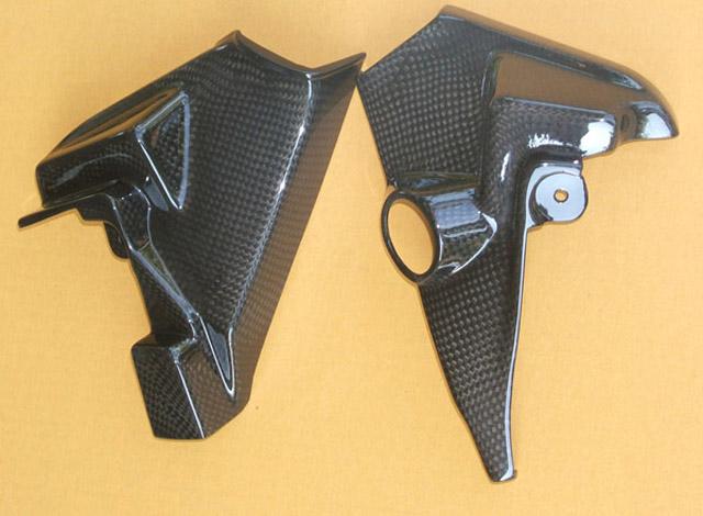 カーボンファイバー製ネックカバー 左右セットヤマハ V-Max 1200