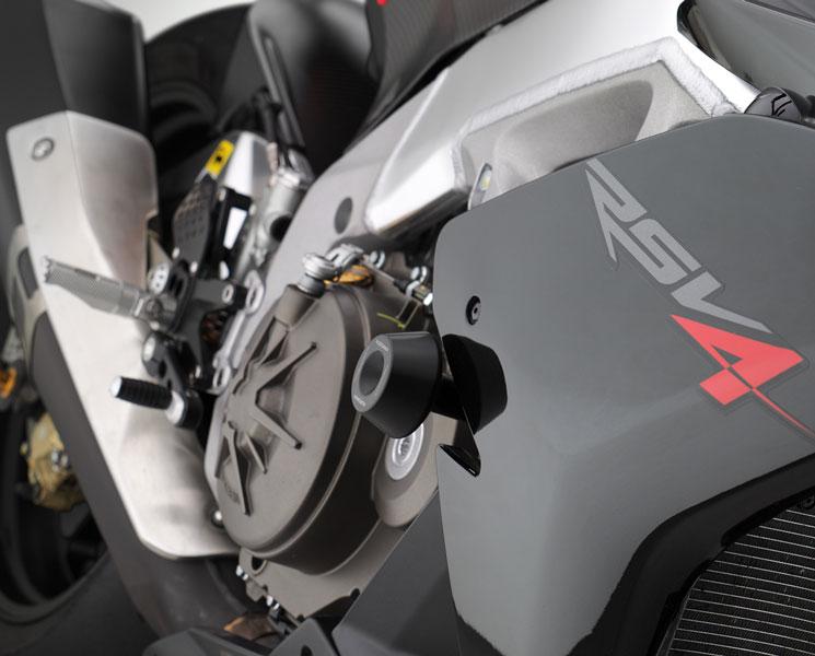 【バイク スライダー】RIZOMA リゾマフレーム・スライダーRSV4 09~