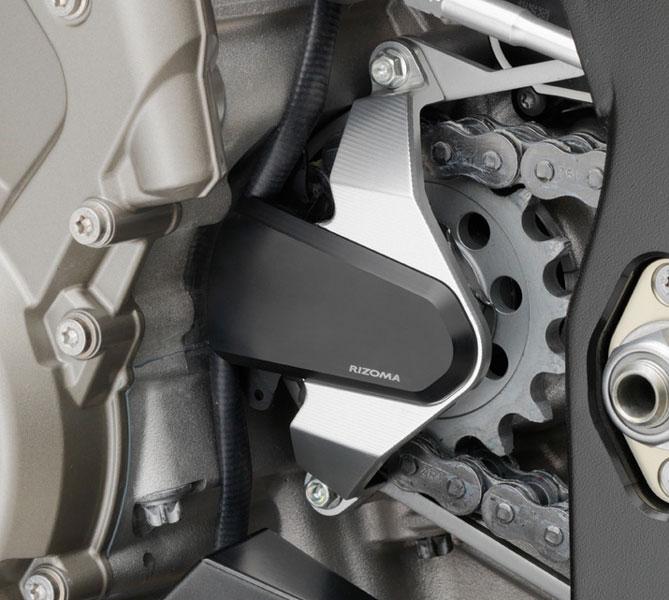 バイク スプロケットRIZOMA リゾマ フロント スプロケットカバーS1000RR 09- / S1000R / S1000XR ABSモデルのみ適合
