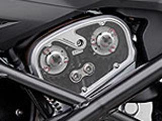 【バイク タイミングベルト】RIZOMA タイミングベルト スケルトン・カバー リアバンク用ストリート・ファイター