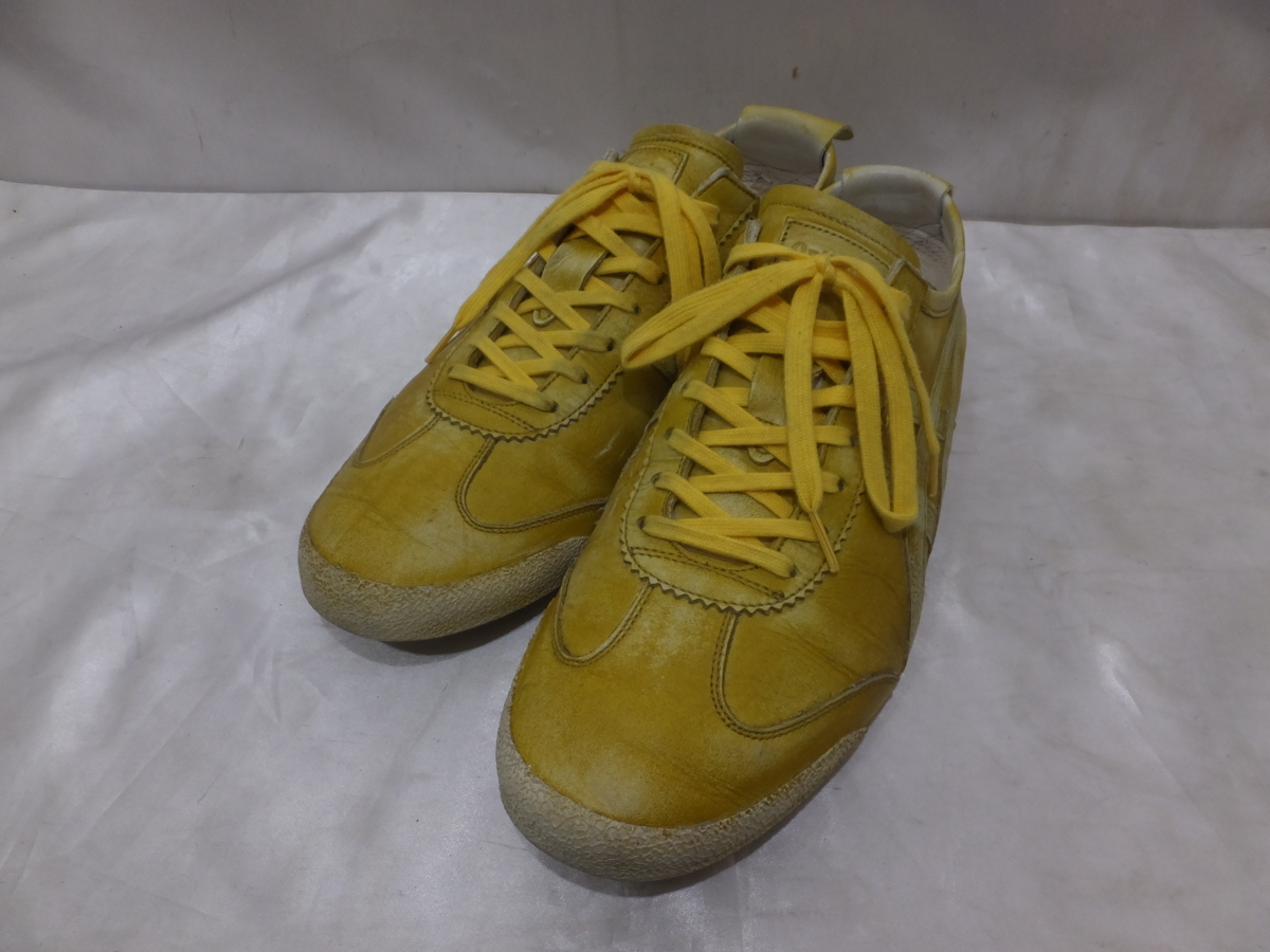 huge selection of 1da4d cf14e 26.5 yellow men made in Onitsuka Tiger Onitsuka tiger MEXICO 66 DELUXE  TH5H0L artefact Japan