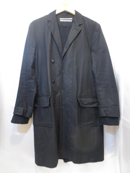 ROBERT GELLER ロバートゲラー コットン ボタン コート チェスターコート Size48【中古】