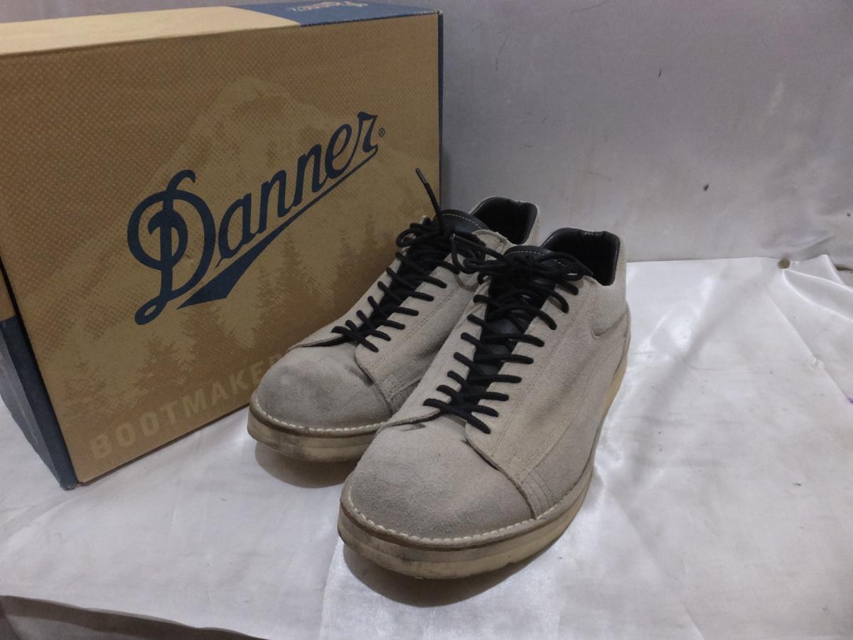 Danner ダナー フードリバー ブーツ シューズ スニーカー D4002 DR US9.5 27.5程度 グレー系 箱付き メンズ【中古】